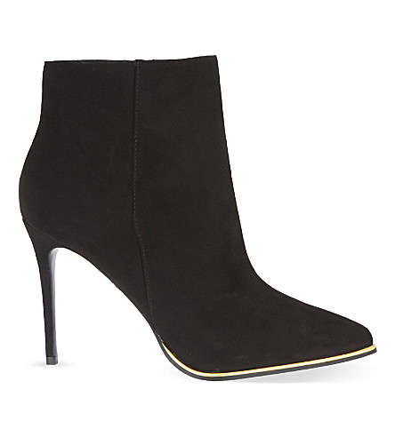 KG KURT GEIGER Ritz heeled ankle boots (Black