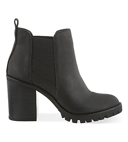 MISS KG Silent heeled ankle boots (Black