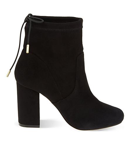 MISS KG Swan block heel ankle boots (Black