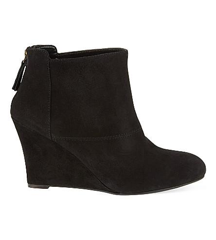 nine west optimistic wedge ankle boots selfridges