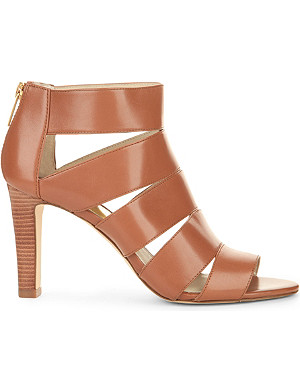 MICHAEL MICHAEL KORS Gisele open-toe leather sandals