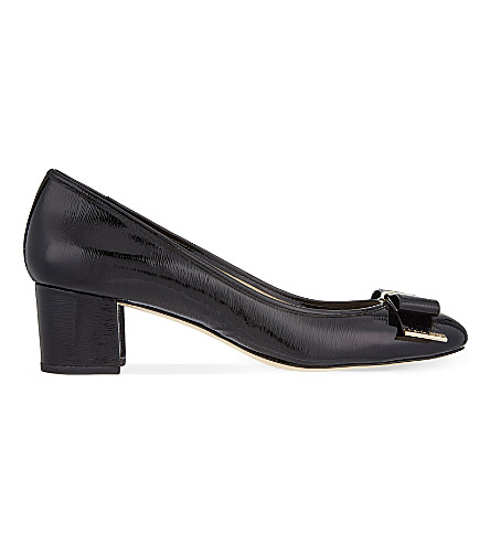 MICHAEL MICHAEL KORS Keira leather courts (Black