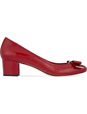 MICHAEL MICHAEL KORS Keira patent-leather courts