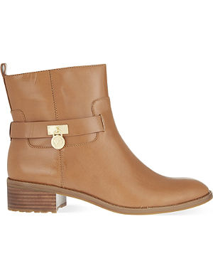 MICHAEL MICHAEL KORS Ryan leather ankle boots