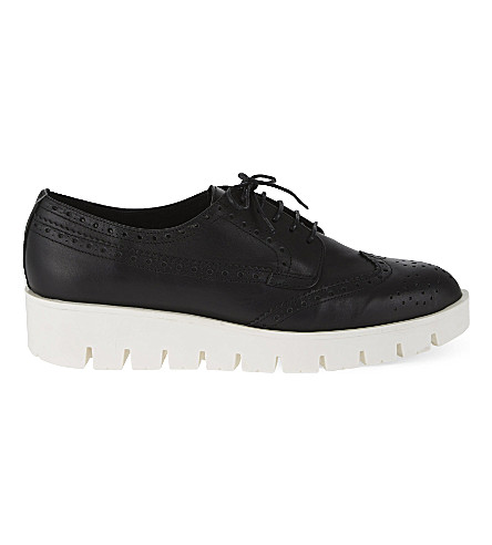 CARVELA Lime flats (Black