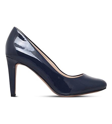 NINE WEST Handjive 专利皮革宫廷鞋 (海军