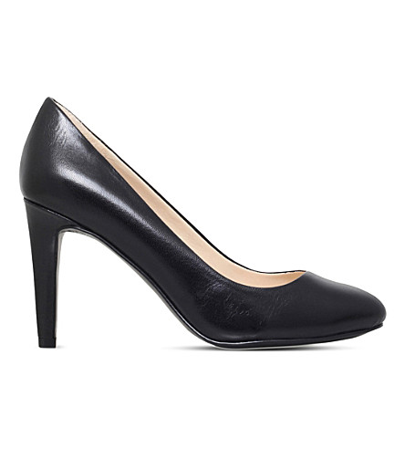 NINE WEST Handjive leather court shoes (Black