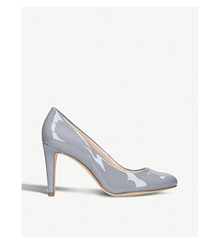 NINE WEST Handjive patent-leather courts (Grey