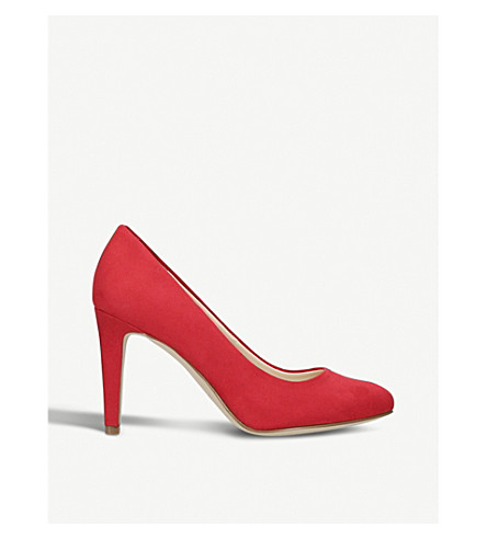 NINE WEST Handjive suede courts (Red