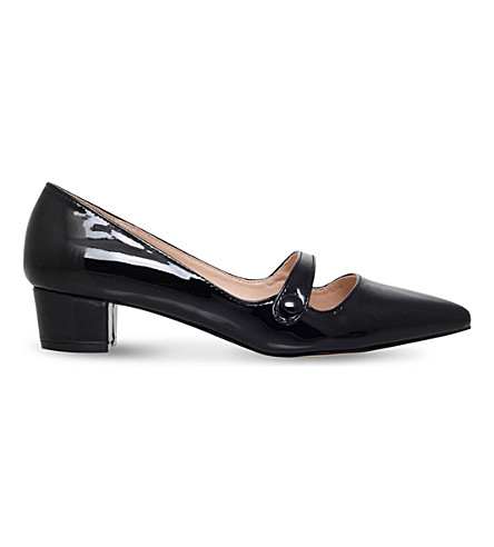 MISS KG Audrina patent-leather courts (Black
