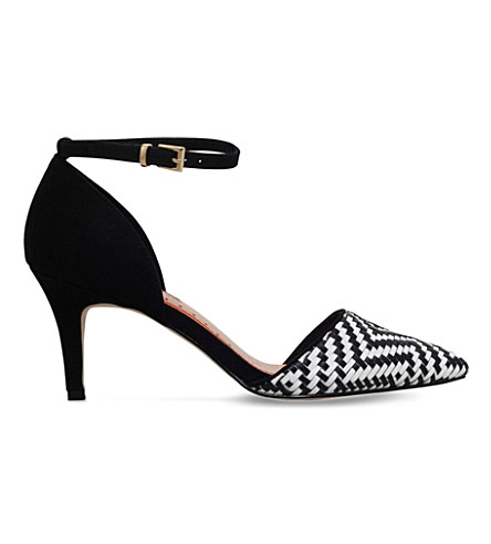 MISS KG Brooke woven courts (Blk/white
