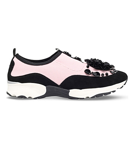 CARVELA Lullaby neoprene trainers (Pale+pink
