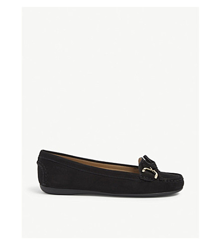 CARVELA COMFORT Cally nubuck loafers