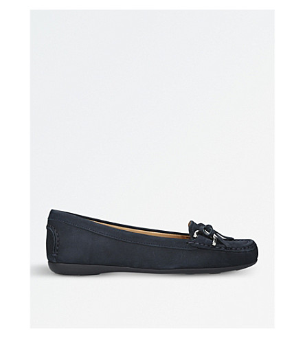 CARVELA COMFORT Cally suede loafers (Navy