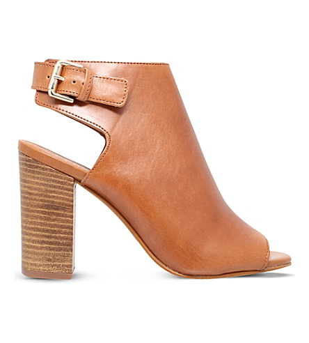 CARVELA Assent leather heeled sandals (Tan