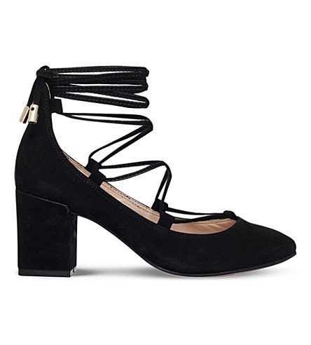 CARVELA Aid suede courts (Black