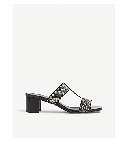 CARVELA COMFORT Suzy studded sandals (Black