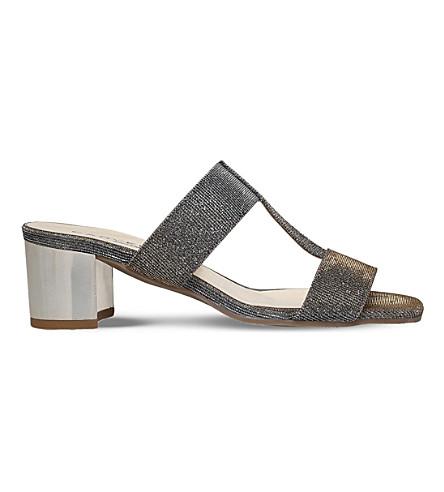 CARVELA COMFORT Suzy metallic sandals (Metal+comb