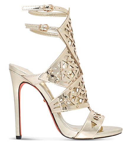 CARVELA Goose metallic sandals (Gold
