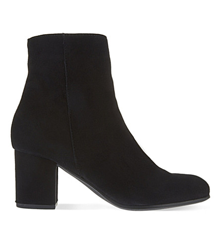 CARVELA Subtle suede ankle boots (Black