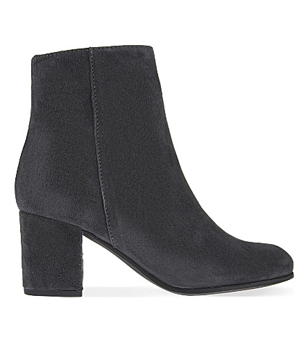 CARVELA Subtle suede ankle boots (Grey