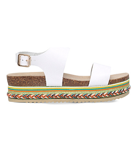 CARVELA Kitten leather sandals (White