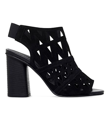 CARVELA Kupid 绒面革和凉鞋 (黑色