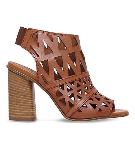 CARVELA Kupid leather heeled sandals (Tan