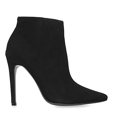 CARVELA Sand suede ankle boots (Black