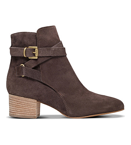 CARVELA Spartan suede ankle boots (Grey
