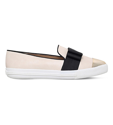 MISS KG Lisa slip-on trainers (Nude