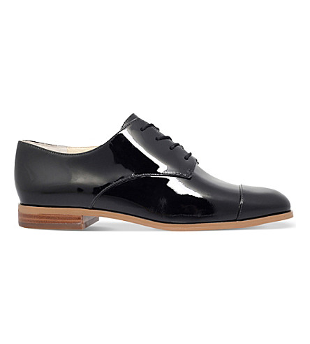 MICHAEL MICHAEL KORS Pierce patent oxford shoes (Black