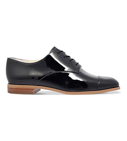 MICHAEL MICHAEL KORS Pierce patent oxford shoes (Black
