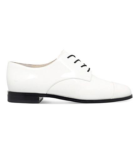 MICHAEL MICHAEL KORS Pierce leather Oxford shoes (White