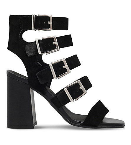 CARVELA Kanada suede heeled sandals (Black