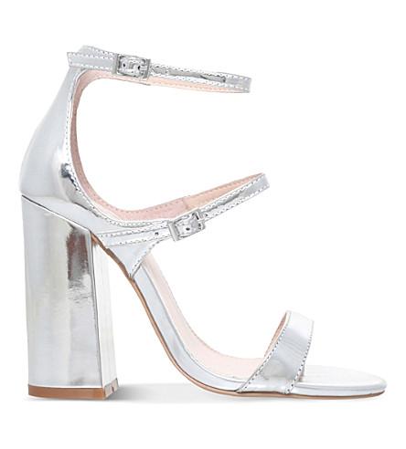 CARVELA Genetic metallic sandals (Silver