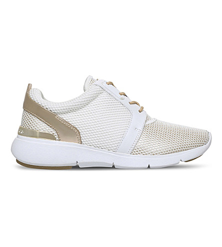 MICHAEL MICHAEL KORS Amanda low-top mesh sneakers (White/comb