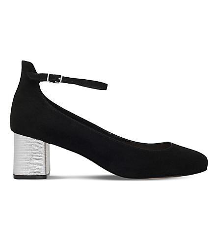 CARVELA Greg suedette heeled sandals (Black