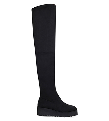 CARVELA Walk over-the-knee boots (Black