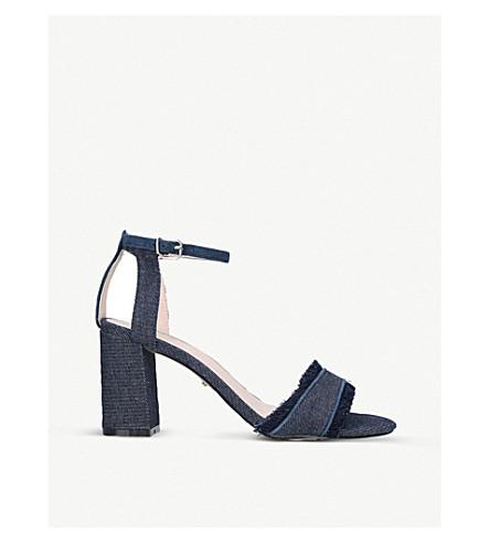 CARVELA Gigi denim sandals (Denim