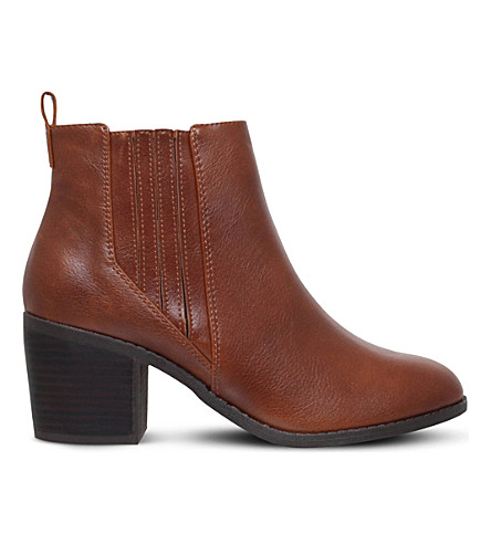 MISS KG Taurus heeled ankle boots (Tan