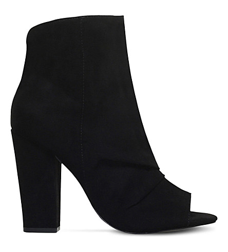 MISS KG Sybil peep toe ankle boots (Black