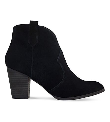MISS KG Sade suede ankle boots (Black