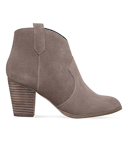 MISS KG Sade zip-up ankle boots (Taupe