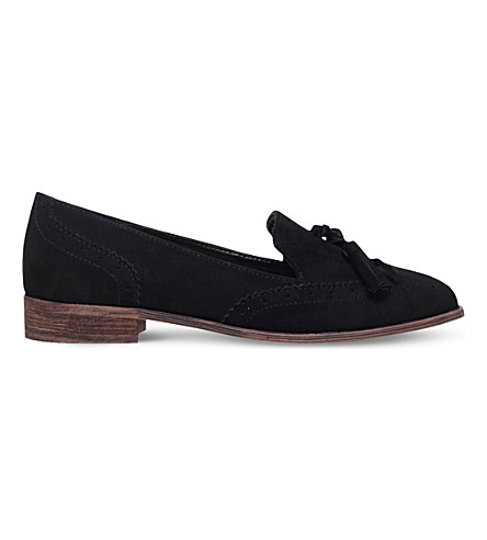 MISS KG Murrie suede loafers (Black