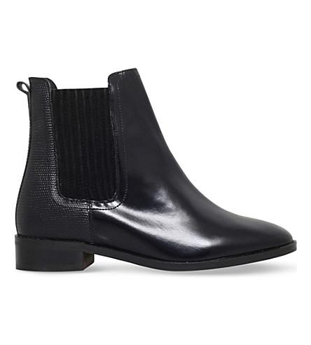 KG KURT GEIGER Staple leather chelsea boots