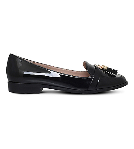 MISS KG Nadia2 patent loafers (Black