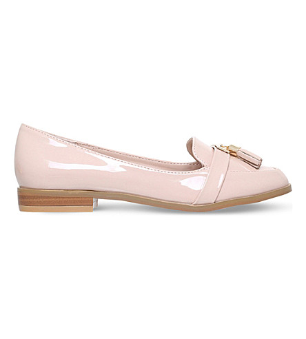 MISS KG Nadia2 patent loafers (Nude