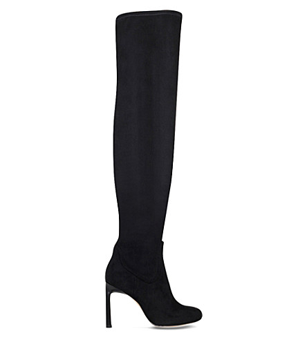 NINE WEST Uptown Girl over-the-knee boots (Black