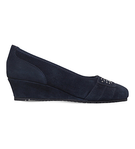 CARVELA COMFORT Navy suede Allie (Navy